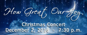 Calvary University Christmas Concert