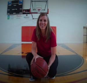 Tressa Shoemaker, Calvary University's new women's basketball coach